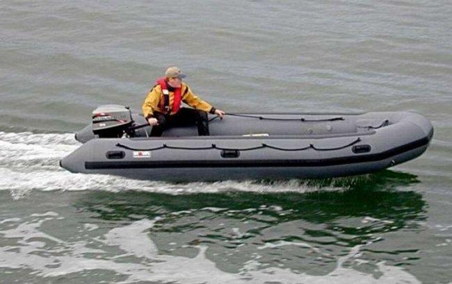 Фото - Човен гумовий для риболовлі та відпочинку