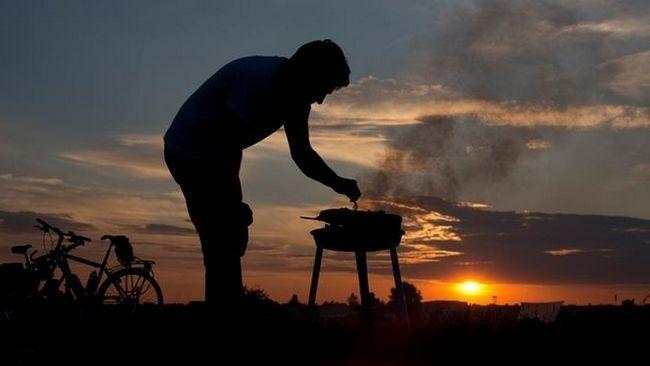 Фото - Мангали своїми руками для відпочинку на дачі і виїзду на природу
