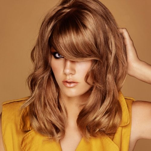 медовий колір волосся фото