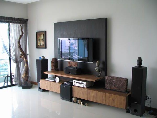 Фото - Міні-стінка під телевізор - затишний куточок у вашій вітальні