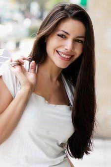 Фото - Модні стрижки на довге волосся без чубчика
