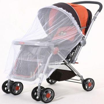 Фото - Москітна сітка на коляску - здоров'я і гарний настрій малюка