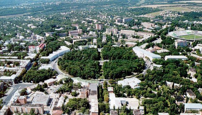великий обласний центр України