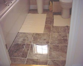 Облицювання плиткою ванної кімнати