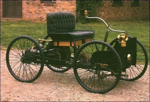Фото - Перші автомобілі в світі