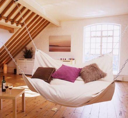 Фото - Підвісна ліжко - солодкий сон в невагомості