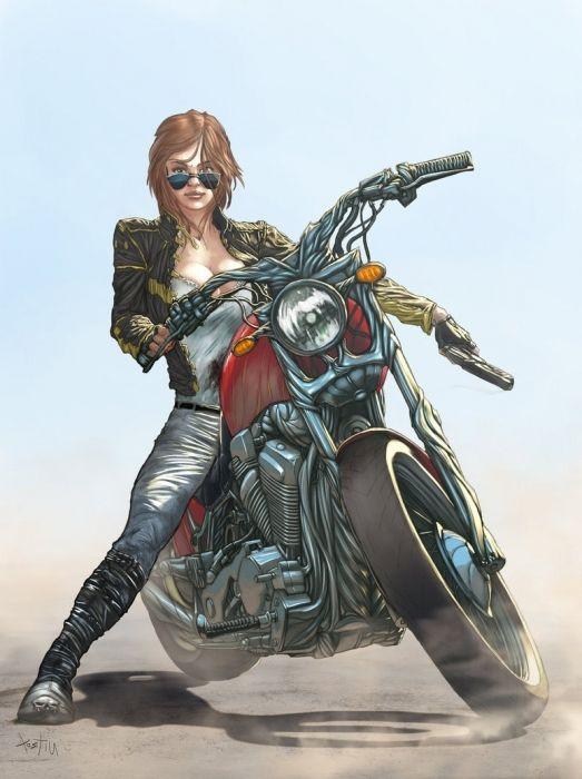 Фото - Допомагаємо підбирати мотоцикл для дівчат