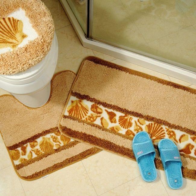 Фото - Правильно підібрані килимки для ванної та туалету - запорука відмінного здоров'я і гарного настрою