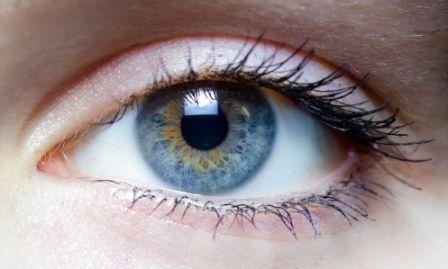райдужна оболонка ока людини