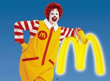 Фото - Рональд Макдональд - талісман компанії McDonald's