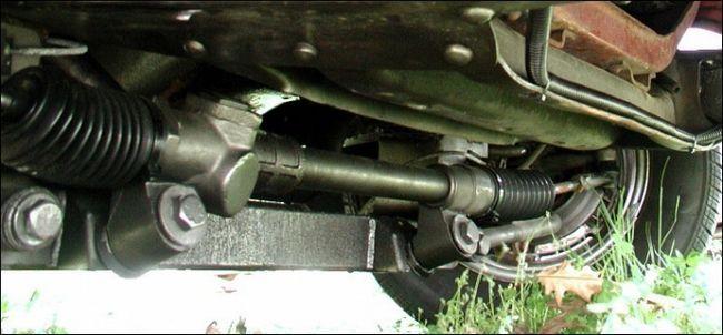 Фото - Рульова рейка і її ремонт