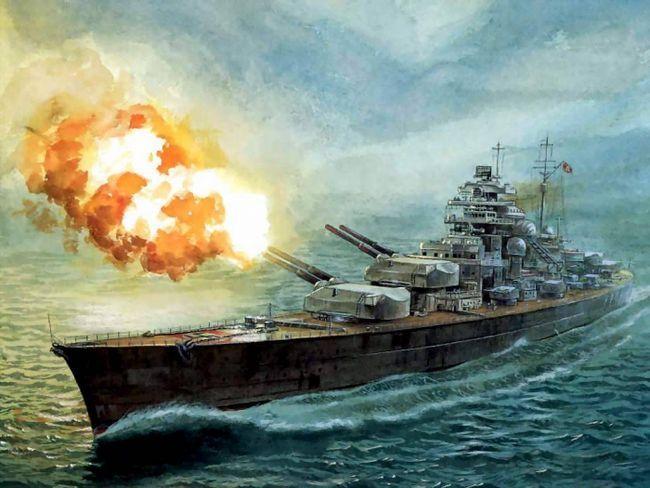 найбільший у світі військовий корабель