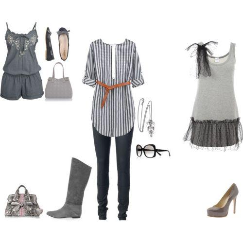 сірий колір в одязі
