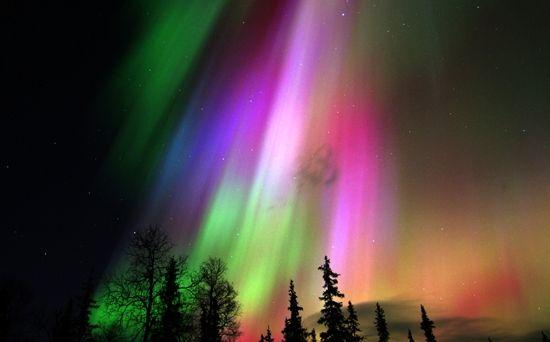 явища природи північне сяйво