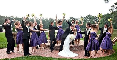 Фото - Бузкова весілля: декор з родзинкою
