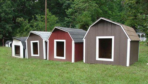 Фото - Собачі будки - основи конструкції, фото