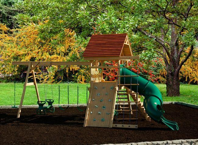 Фото - Створюємо дитячий ділянку в дитячому саду своїми руками