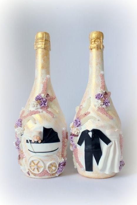 Фото - Весільна етикетка на пляшці - бренд сучасного весілля