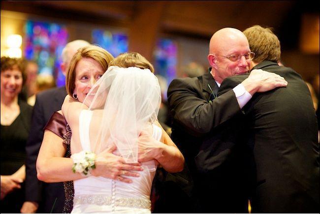 Весільні привітання батьків своїми словами
