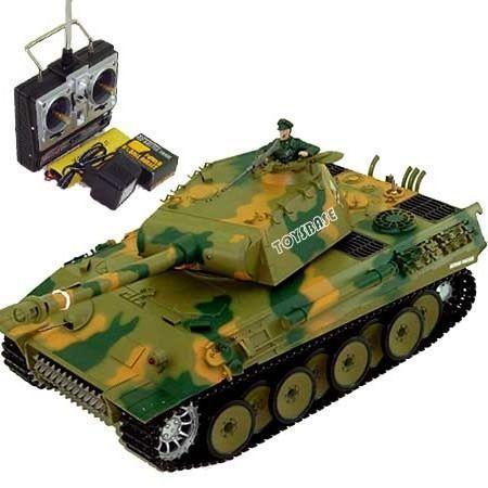 Фото - Танк на радіокеруванні - іграшка для дітей і дорослих