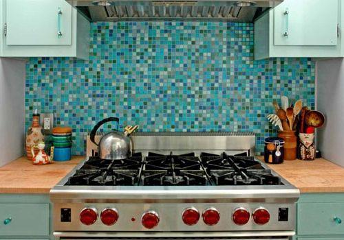 Фото - Прикрашаємо будинок: мозаїка на кухні
