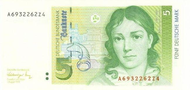 Фото - Валюта Німеччині - міцна марка