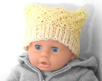 В'язання шапочок для новонароджених дівчаток