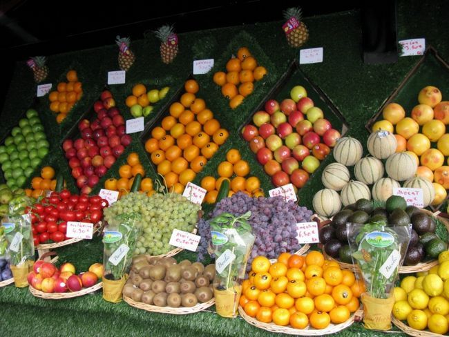 викладка продовольчих товарів
