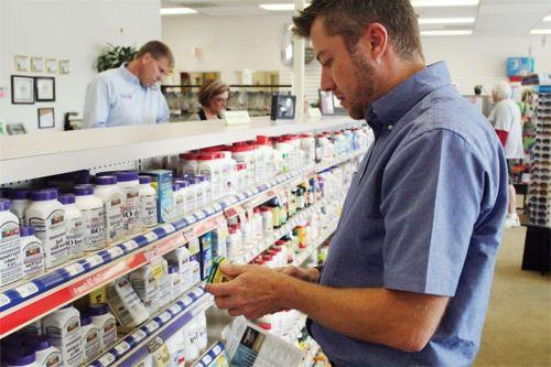 викладка товару в аптеці
