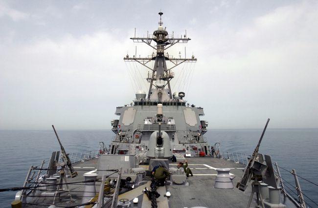 Фото - Американський есмінець дональд кук (фото)