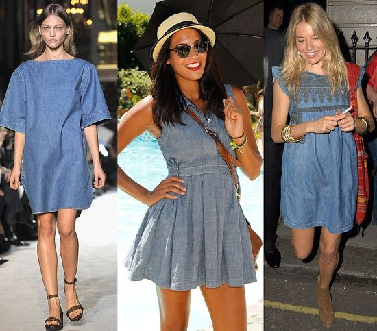 Фото - Джинсове плаття - з чим носити, куди одягнути?