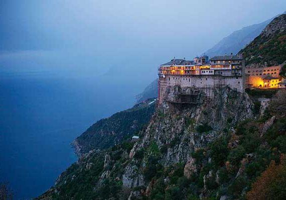 Фото - Гора Афон - монастир. Монастирі Святий Афон