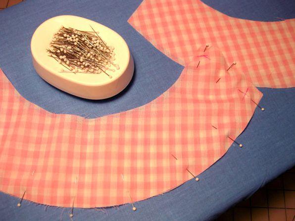 Фото - Горловина: обробка вирізу вироби. Обробка трикотажної горловини