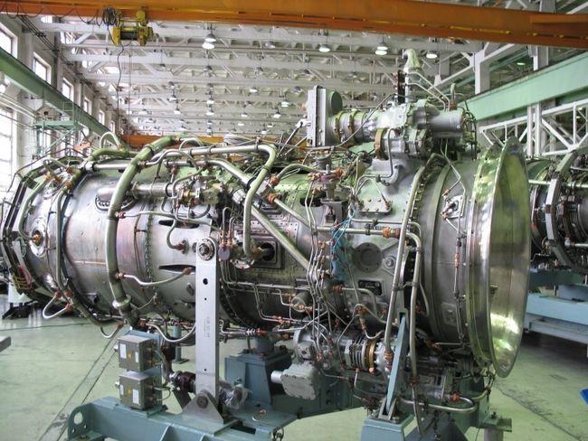 Виробництво газотурбінних установок