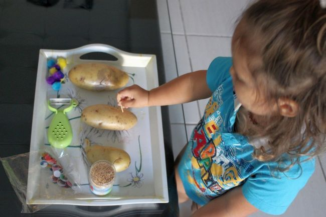 Фото - Як зробити їжачка з картоплі? Дізнаємося!
