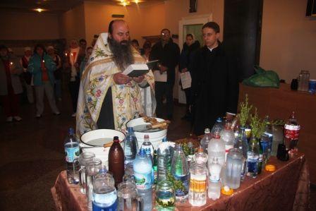 Фото - Коли освячується вода на хрещення господнє?