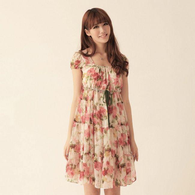 Фото - Літнє плаття з коротким рукавом - як вибрати
