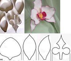 Фото - Майстер-клас: орхідея з фоамірана своїми руками
