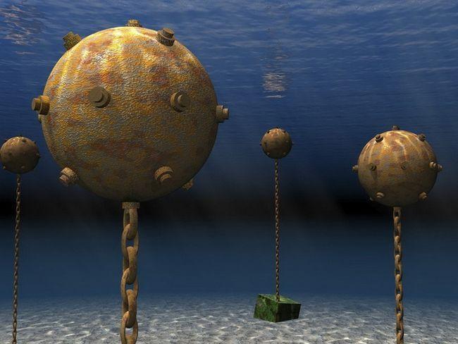 морські міни