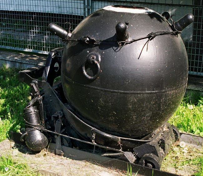 німецькі морські міни