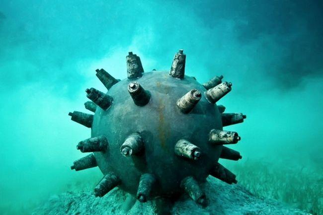 морські міни другої світової
