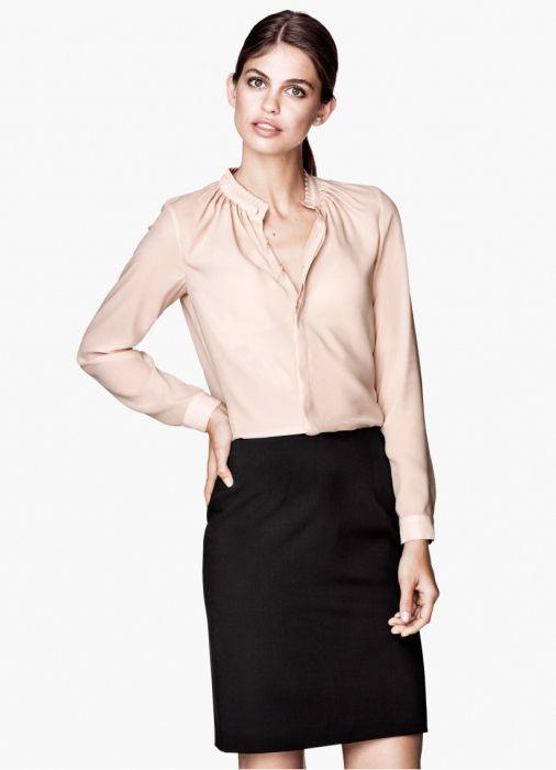 Фото - Необхідна річ в гардеробі - блузка офісна