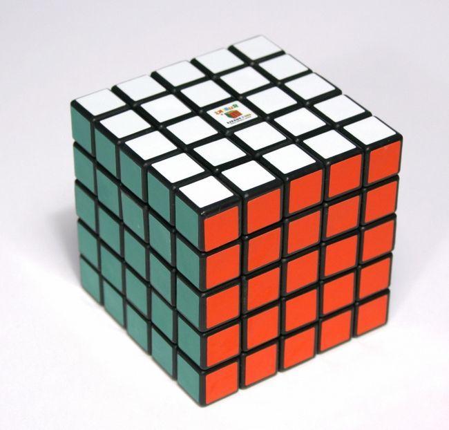 Фото - Неможливе можливо, або як збирати кубик рубика 5х5