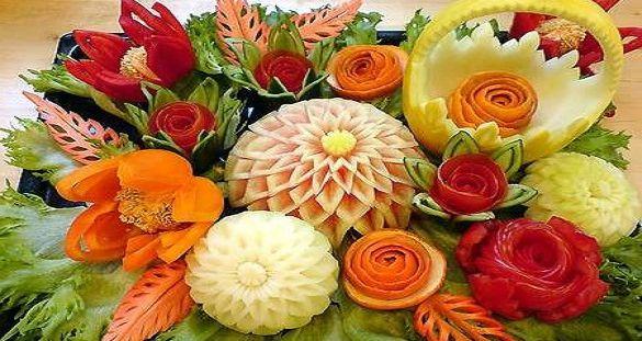 Фото - Осінні композиції з овочів і фруктів. Створюємо шедеври з дарів природи
