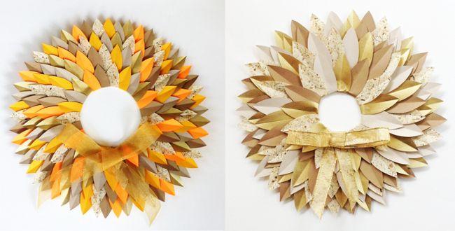Фото - Осіннє листя з паперу: робимо орігамі разом з дітьми