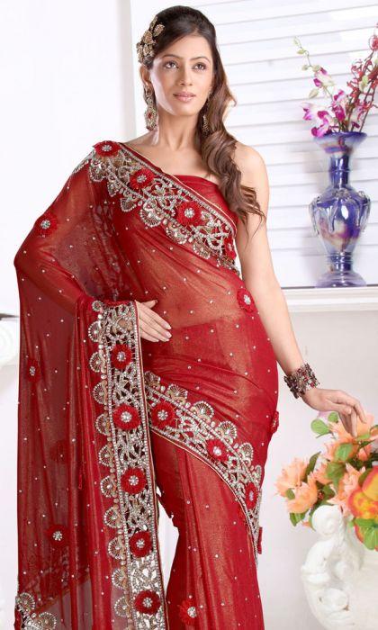 Фото - Плаття індійські. Актуальність східного стилю в одязі: індійські вечірні сукні