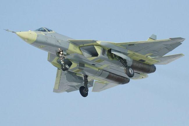 новітній літак росії 5 покоління