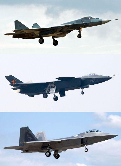 військові літаки 5 покоління