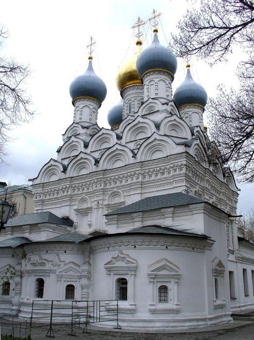 Фото - Свято-никольская церква (москва, ординка): історія та особливості