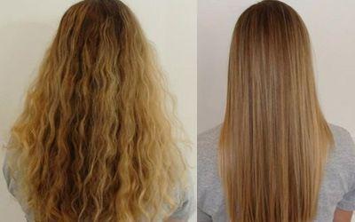 процедура щастя для волосся в домашніх умовах